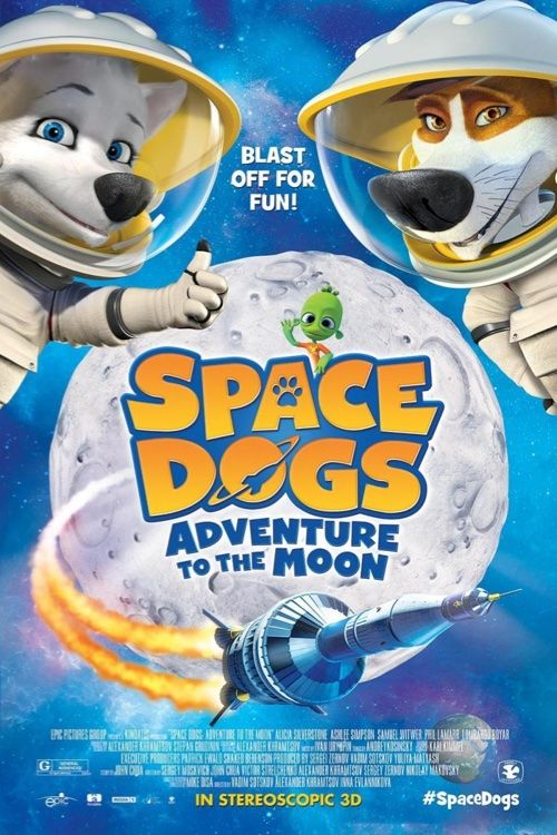 Space Dogs. Adventure To The Moon